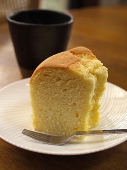 母のシフォンケーキ
