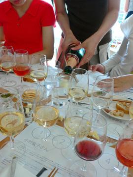 ワインの勉強会