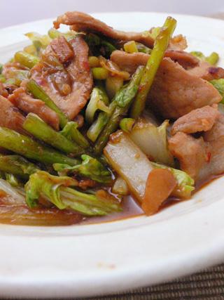 白菜でさっぱり回鍋肉