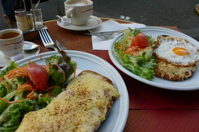 パリの朝ごはん