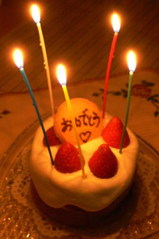 苺と生クリームたっぷりのケーキ