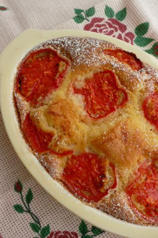 フルーツトマトのアーモンドケーキ