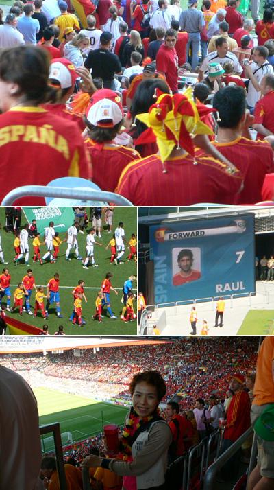 FIFAワールドカップ観戦