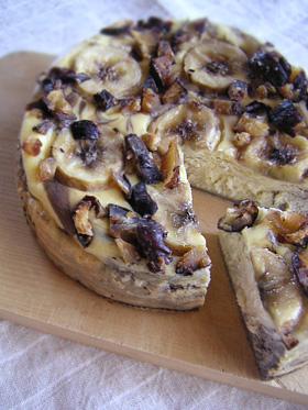 マロンバナナチーズケーキ