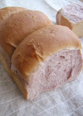 ブラックベリー食パン