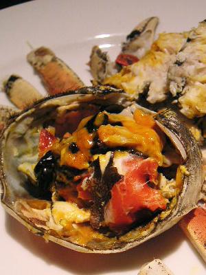 初めての上海蟹