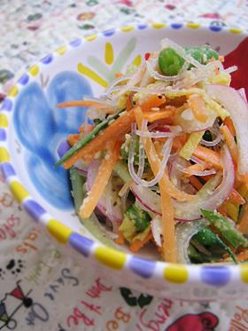 中華の春雨サラダ