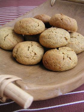 きなことすりゴマのクッキー