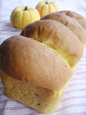 かぼちゃの山形パン