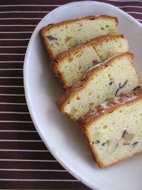 さつまいもと栗のアーモンドケーキ