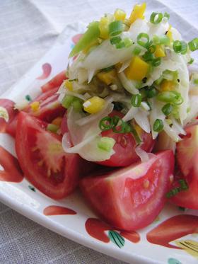 玉ねぎたっぷり夏のサラダ